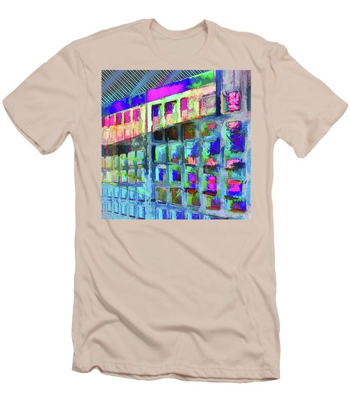 Men's T-Shirt (Athletic Fit) featuring the digital art Hide And Seek by Wendy J St Christopher