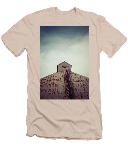 Men's T-Shirt (Slim Fit) featuring the photograph High View by Trish Mistric