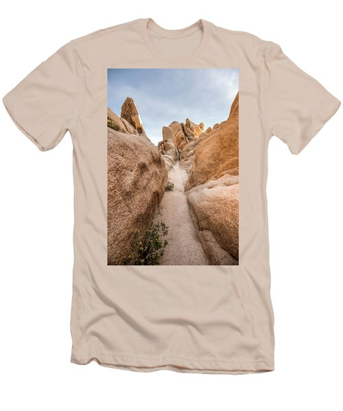 Hiking Trail In Joshua Tree National Park Men's T-Shirt (Athletic Fit)