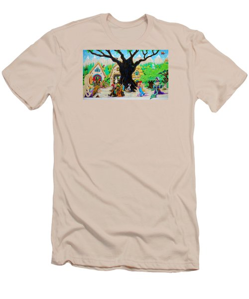 Hobbit Land Men's T-Shirt (Athletic Fit)
