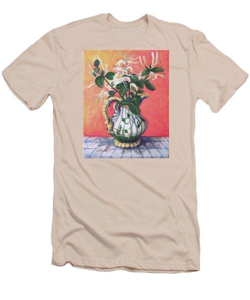 Honeysuckle Men's T-Shirt (Slim Fit) by Laura Aceto