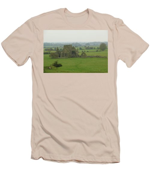 Men's T-Shirt (Slim Fit) featuring the photograph Hore Abbey by Marie Leslie