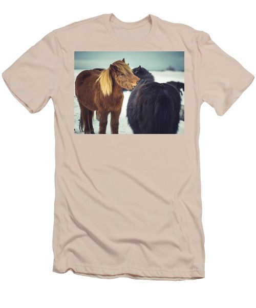 Horse Friends Forever Men's T-Shirt (Athletic Fit)