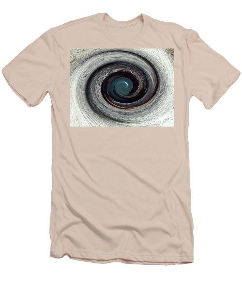 Men's T-Shirt (Athletic Fit) featuring the digital art Eye See You - A Horse's Spiralized Eye - Modern/contemporary Art by Merton Allen