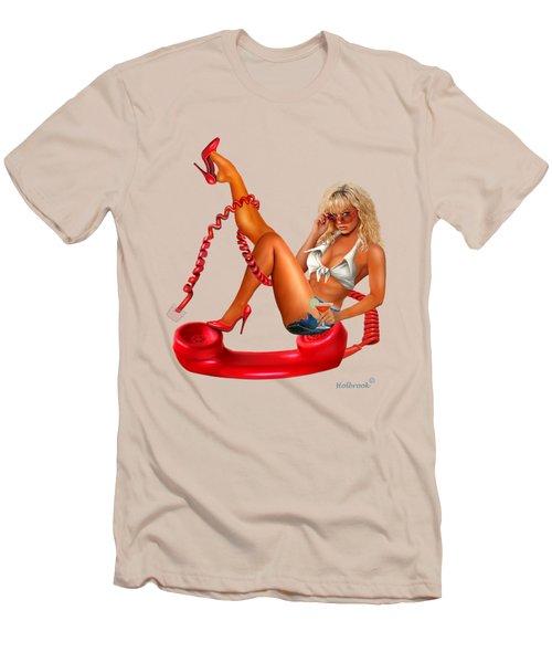 Hot Line Men's T-Shirt (Athletic Fit)