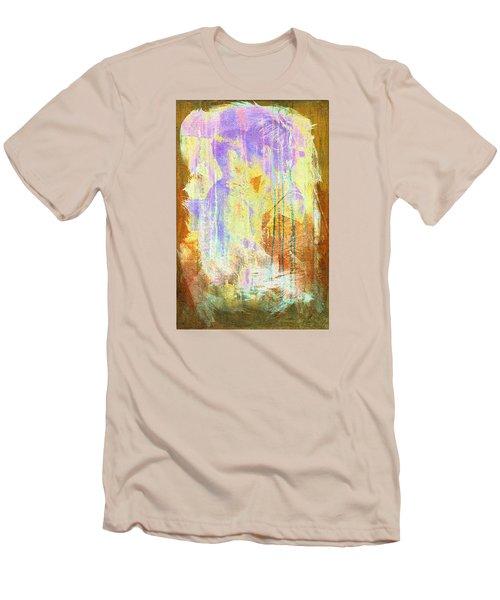 Hugging Canvas Men's T-Shirt (Slim Fit) by Andrea Barbieri