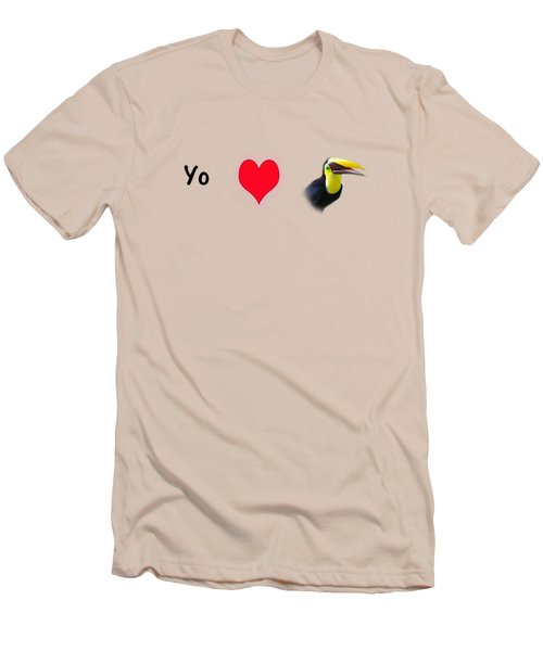 I Love Toucans Men's T-Shirt (Slim Fit) by Paul  Gerace