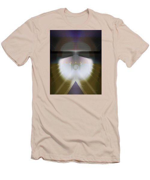 I Wish I Was A Headlight On A Northbound Train Men's T-Shirt (Slim Fit) by David Klaboe
