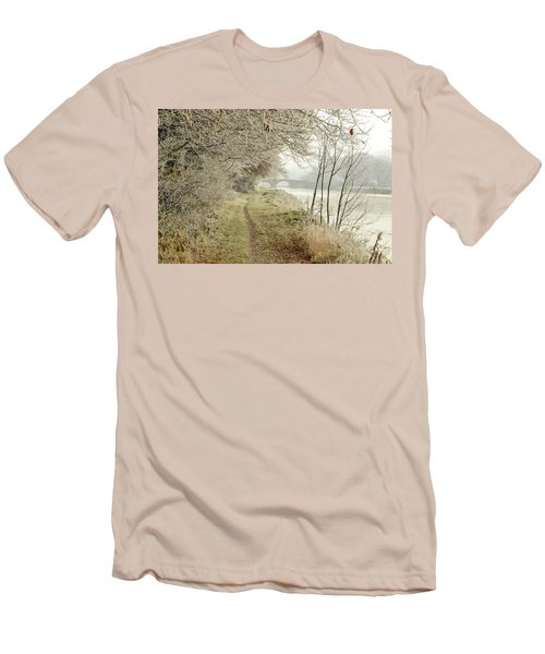 Ice And Mist Men's T-Shirt (Athletic Fit)