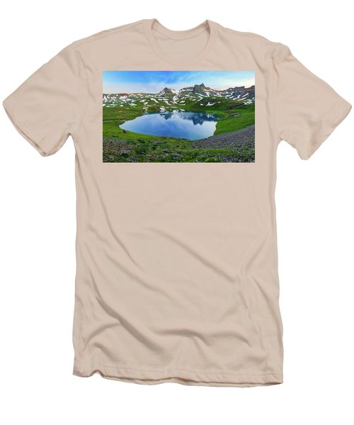Ice Lake Panorama Men's T-Shirt (Athletic Fit)