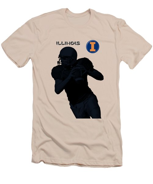 Illinois Football Men's T-Shirt (Slim Fit)