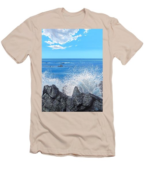 Splash Men's T-Shirt (Slim Fit)