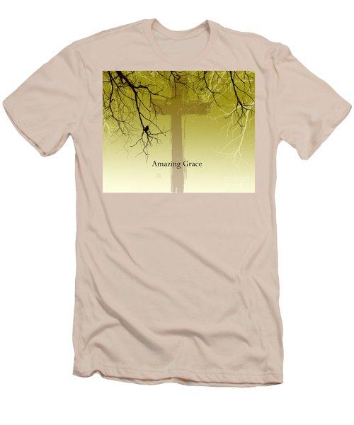 Immanuel- My Saviour Men's T-Shirt (Slim Fit) by Trilby Cole