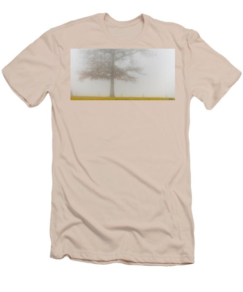 Men's T-Shirt (Slim Fit) featuring the photograph In Retrospect by Skip Tribby