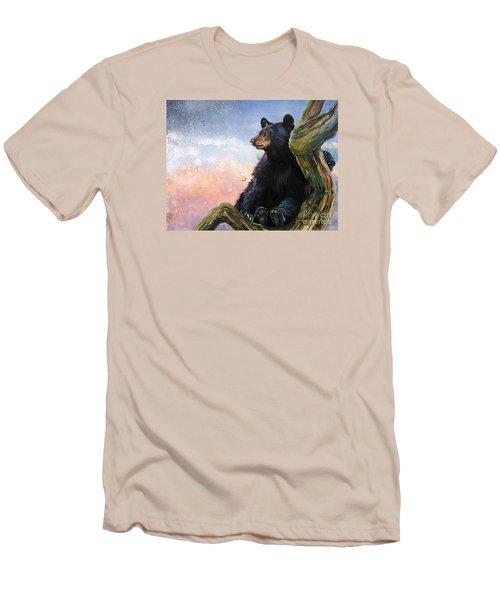 In The Eyes Of Innocence  Men's T-Shirt (Slim Fit) by J W Baker