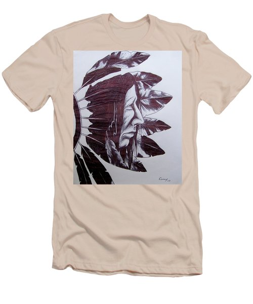 Indian Feathers Men's T-Shirt (Athletic Fit)