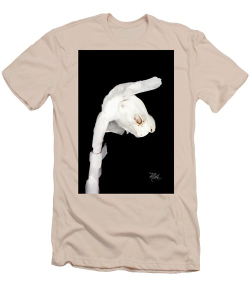 Indian Pipe Head Men's T-Shirt (Slim Fit) by Meta Gatschenberger