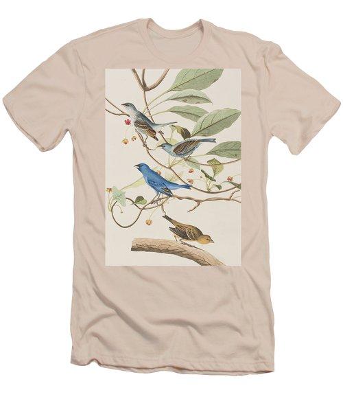 Indigo Bird Men's T-Shirt (Athletic Fit)