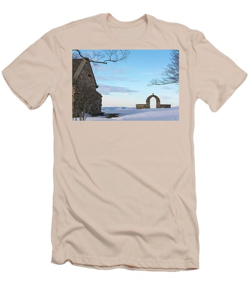 Inner Peace Of Pastel Koolness Men's T-Shirt (Athletic Fit)
