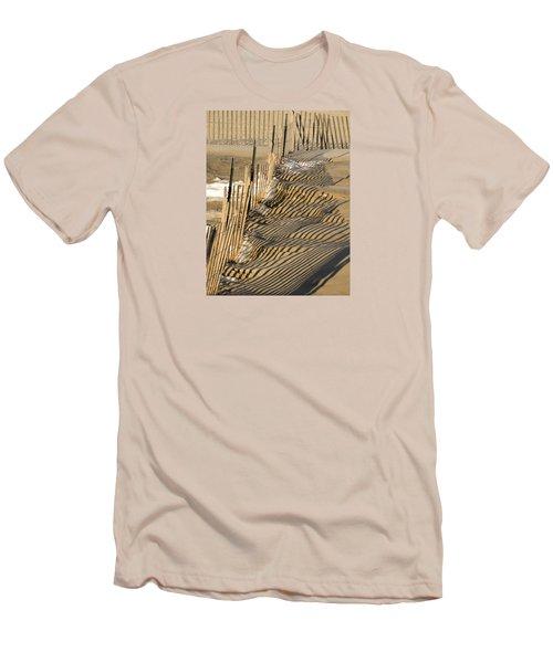 Intersection Men's T-Shirt (Slim Fit) by Lynda Lehmann