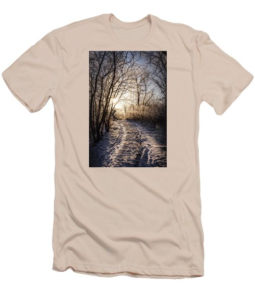 Into The Light Men's T-Shirt (Slim Fit) by Annette Berglund