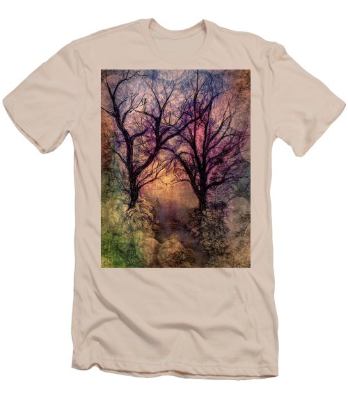 Into The Woods Men's T-Shirt (Slim Fit) by Annette Berglund