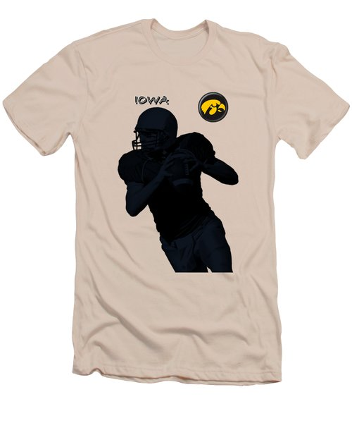 Iowa Football  Men's T-Shirt (Slim Fit)