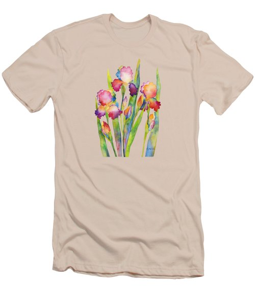 Iris Elegance Men's T-Shirt (Slim Fit) by Hailey E Herrera