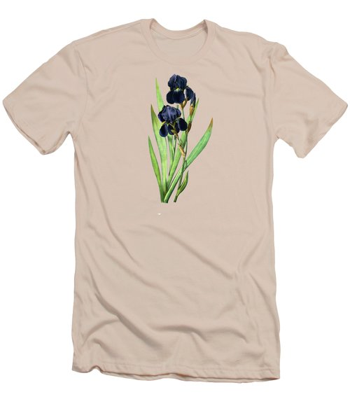 Iris Germanica Men's T-Shirt (Athletic Fit)