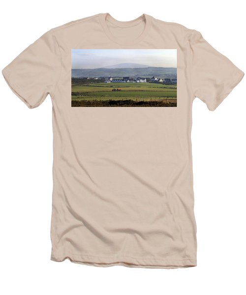 Irish Sheep Farm II Men's T-Shirt (Slim Fit) by Henri Irizarri