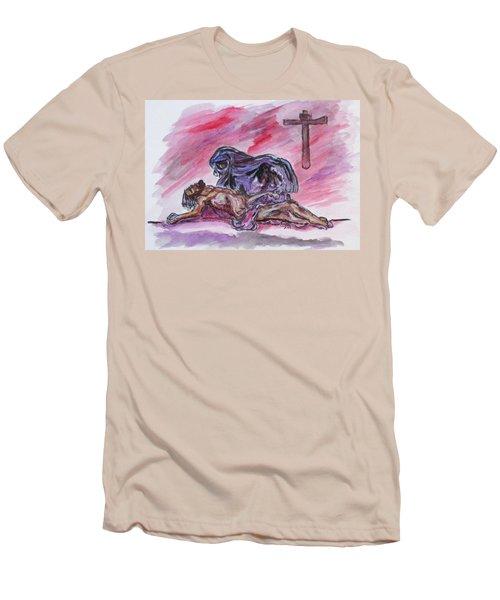 It Is Done Men's T-Shirt (Slim Fit)