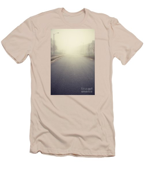 It Is Unclear What Lies Ahead Men's T-Shirt (Athletic Fit)