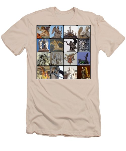 Men's T-Shirt (Slim Fit) featuring the photograph Italian Angels by Tim Mattox