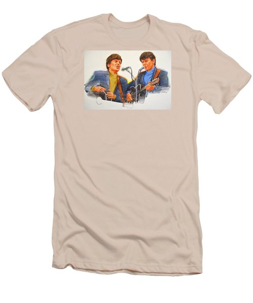 Its Rock And Roll 4  - Everly Brothers Men's T-Shirt (Athletic Fit)