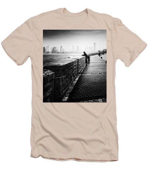 Jaffa Port Men's T-Shirt (Slim Fit) by Hayato Matsumoto