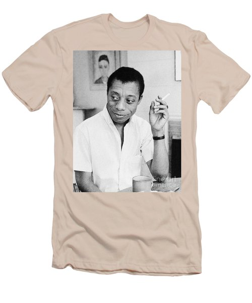 James Baldwin (1924-1987) Men's T-Shirt (Athletic Fit)