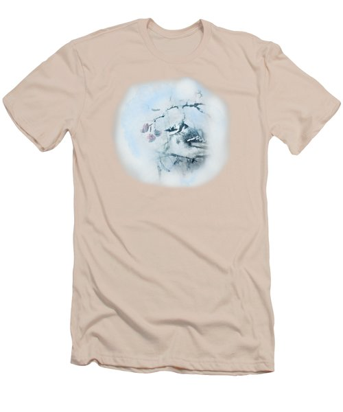 January Bluejay  Men's T-Shirt (Slim Fit) by Susan Capuano