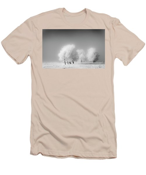 January Frost Men's T-Shirt (Slim Fit) by Dan Jurak