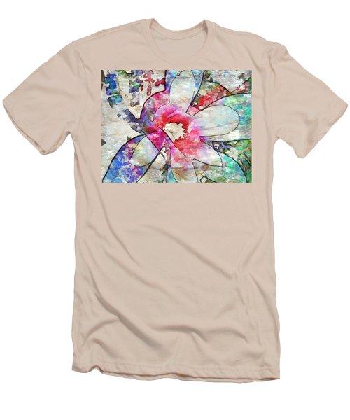 Japanese Magnolia  Men's T-Shirt (Athletic Fit)