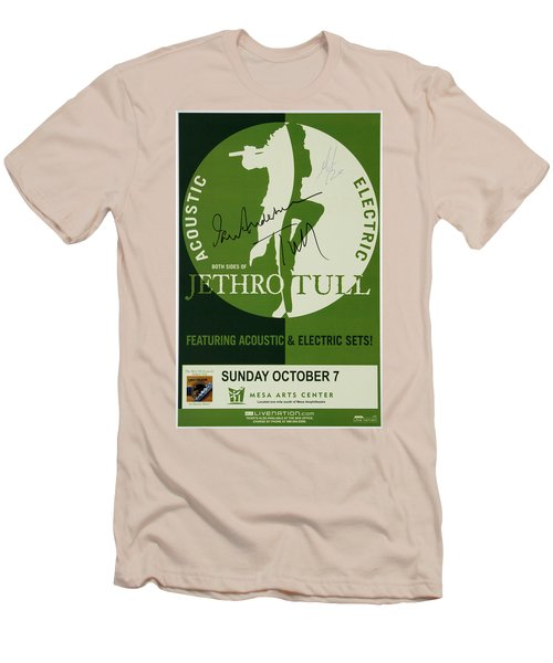 Jethro Tull Signed Poster Men's T-Shirt (Athletic Fit)