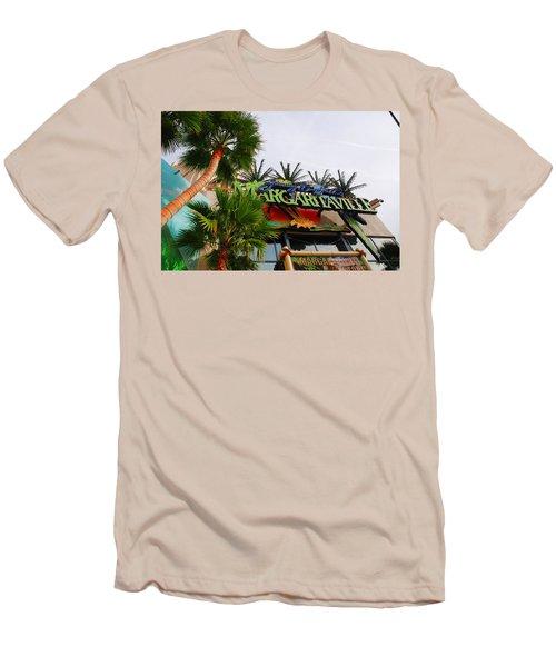 Jimmy Buffets Margaritaville In Las Vegas Men's T-Shirt (Athletic Fit)