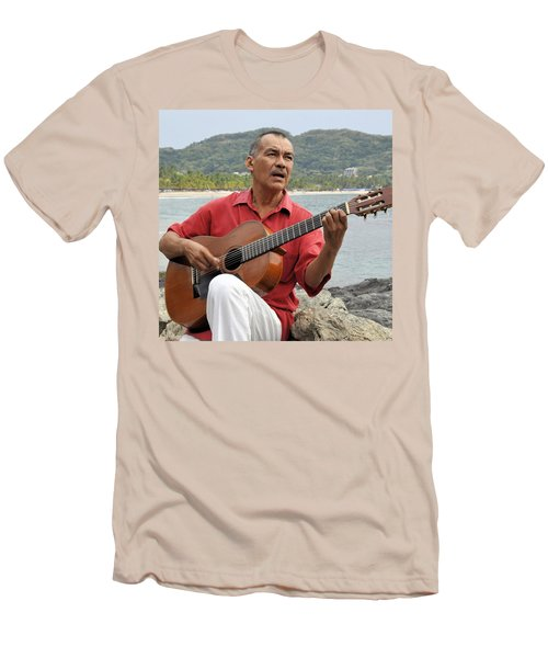 Men's T-Shirt (Slim Fit) featuring the photograph Jose Luis Cobo by Jim Walls PhotoArtist