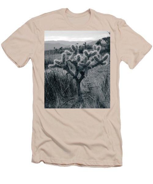 Joshua Tree Cactus Men's T-Shirt (Athletic Fit)