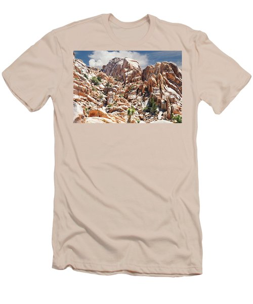 Joshua Tree National Park - Natural Monument Men's T-Shirt (Slim Fit) by Glenn McCarthy Art and Photography