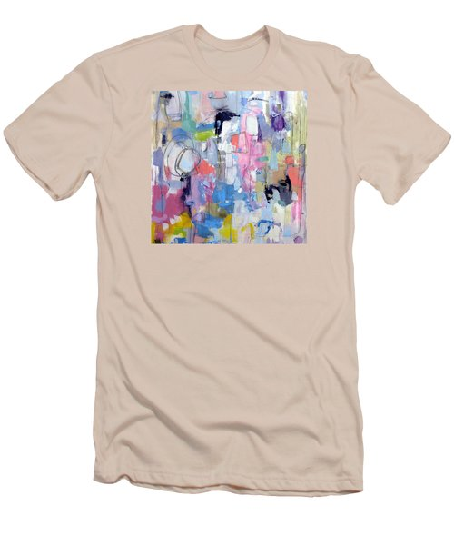 Men's T-Shirt (Slim Fit) featuring the painting Journal by Katie Black
