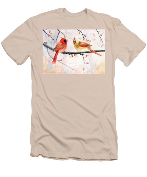 Just The Two Of Us Men's T-Shirt (Slim Fit) by Melly Terpening