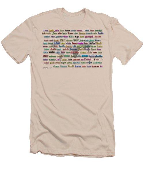 Justin Men's T-Shirt (Athletic Fit)