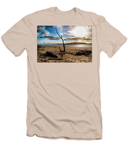Kapiti Sunset Men's T-Shirt (Athletic Fit)