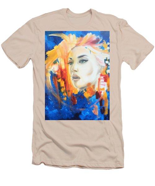 Kate Winslet Men's T-Shirt (Slim Fit) by Matt Burke