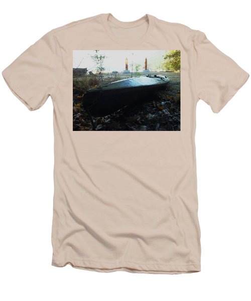 Men's T-Shirt (Slim Fit) featuring the photograph Kayak by Mark Alan Perry